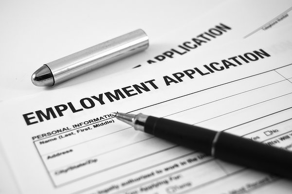 Employment Application for PCI Security